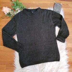 🌵GEOFFREY BEENE men's knitted crewneck sweater M